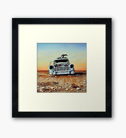 Old Holdens Never Die II Framed Print