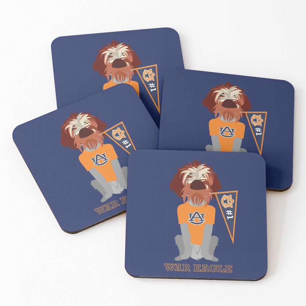 Banner Girl III Coasters (Set of 4)