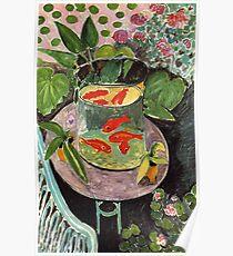 Henri Matisse Goldfish 1911, Goldfishes Artwork, Men, Women, Youth Poster