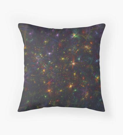 Cosmic fractals Floor Pillow
