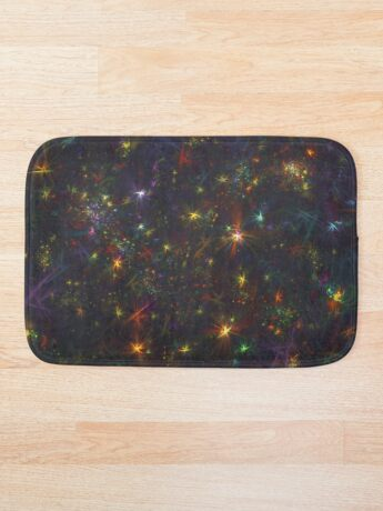 Cosmic fractals Bath Mat