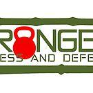 Granger Fitness and Defense Marine Colors Full logo by John Granger