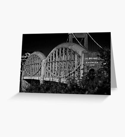 Royal Albert Bridge Greeting Card