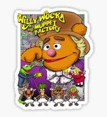 Willy Wocka and the Muppet Factory Sticker