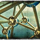 Atomium, Brussels, Belgium - Forgotten Postcard by Alison Cornford-Matheson