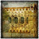 Château de Chenonceau, France – Forgotten Postcard by Alison Cornford-Matheson