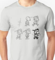 Cartoon Character Step by Step T-Shirt