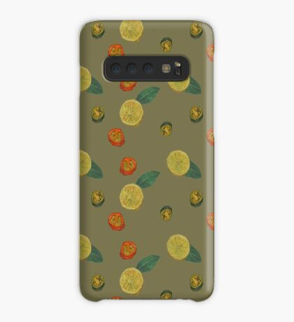 Chilli and Lemon Case/Skin for Samsung Galaxy