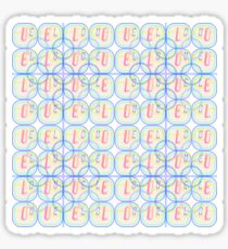 Love Squared Seamless Tiles Sticker
