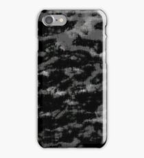 Charcoal Moon  Face Print iPhone Case/Skin