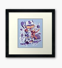 From the valley of the wind Framed Print