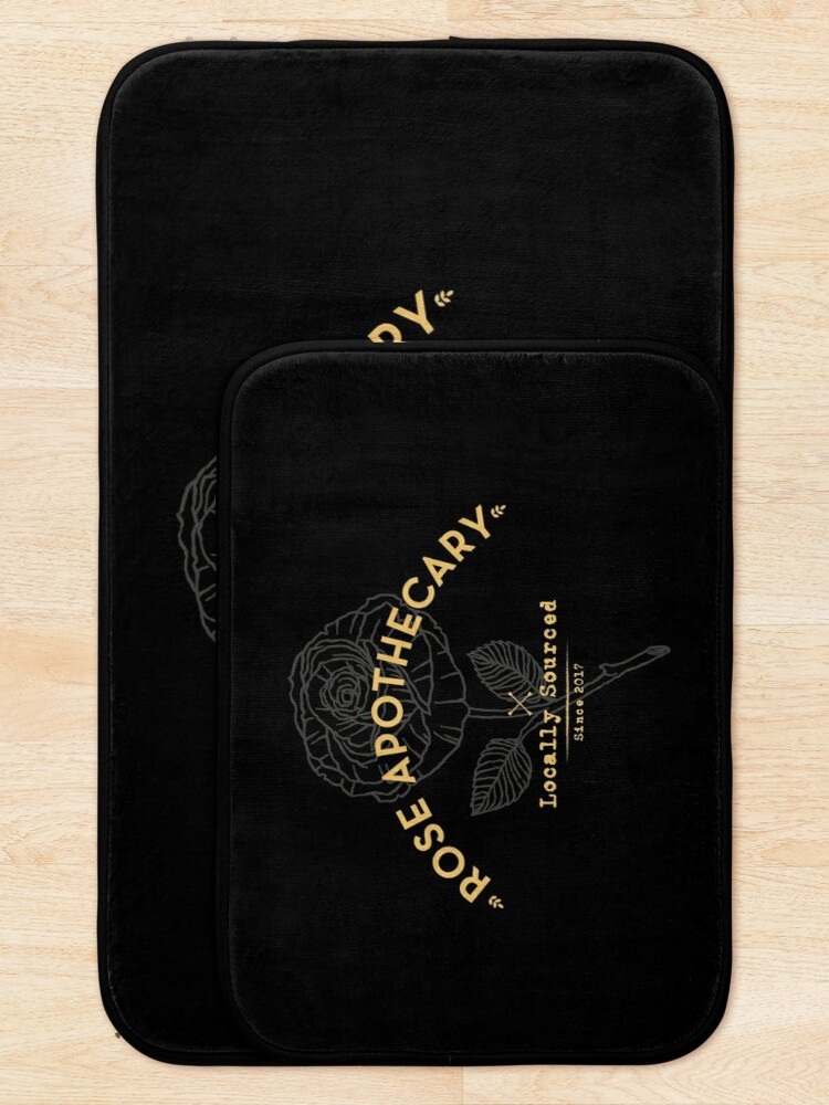 Alternate view of Dark Rose Apothecary Bath Mat