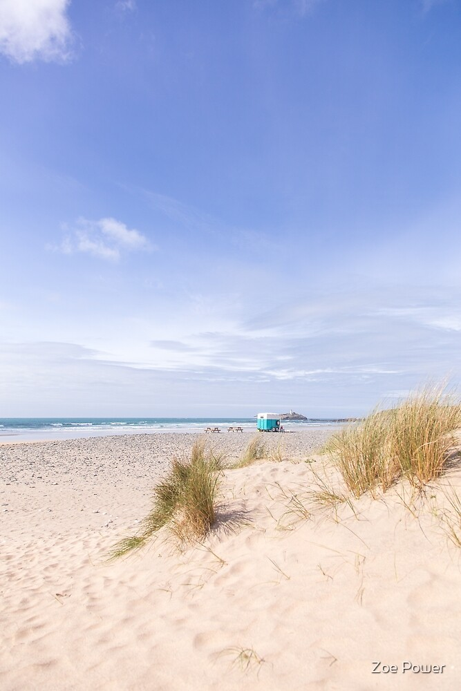 Summer vibes at Gwithian beach, Cornwall, UK by Zoe Power