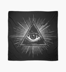 Illuminati Occult Pyramid Sigil Scarf