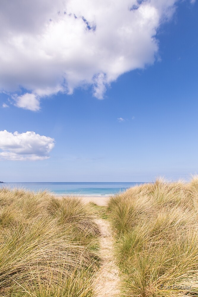 Let's go to the beach :: Gwithian Sands, Cornwall by Zoe Power