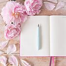 Today is a blank page, full of possibility by Zoe Power