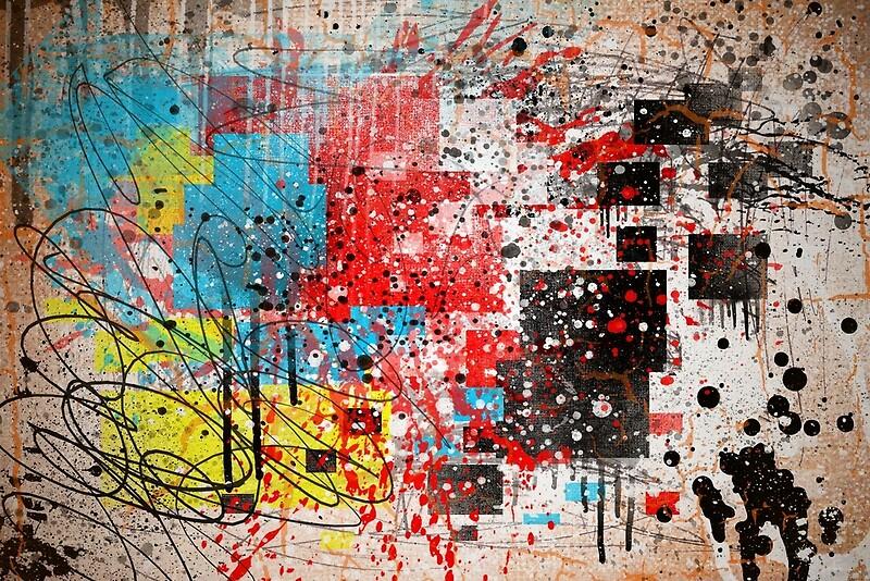 Image result for splatter art