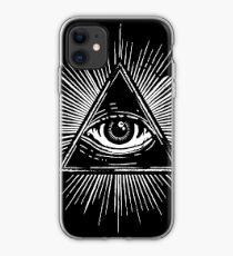 Illuminati Occult Pyramid Sigil iPhone Case