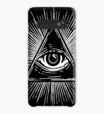 Illuminati Occult Pyramid Sigil Case/Skin for Samsung Galaxy