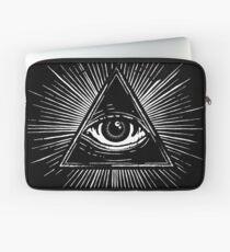 Illuminati Occult Pyramid Sigil Laptop Sleeve
