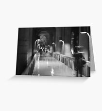 I am here now, I will be there tomorrow Greeting Card