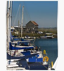Tollesbury Marina, Essex Poster