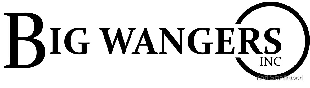 """The Official Big Wangers Inc Logo"