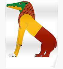Ammit | Egyptian Gods, Goddesses, and Deities Poster