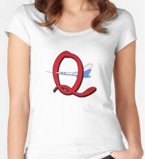 Quest Team's favorite Mode of Transport! Women's Fitted Scoop T-Shirt