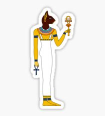 Bastet | Egyptian Gods, Goddesses, and Deities Sticker