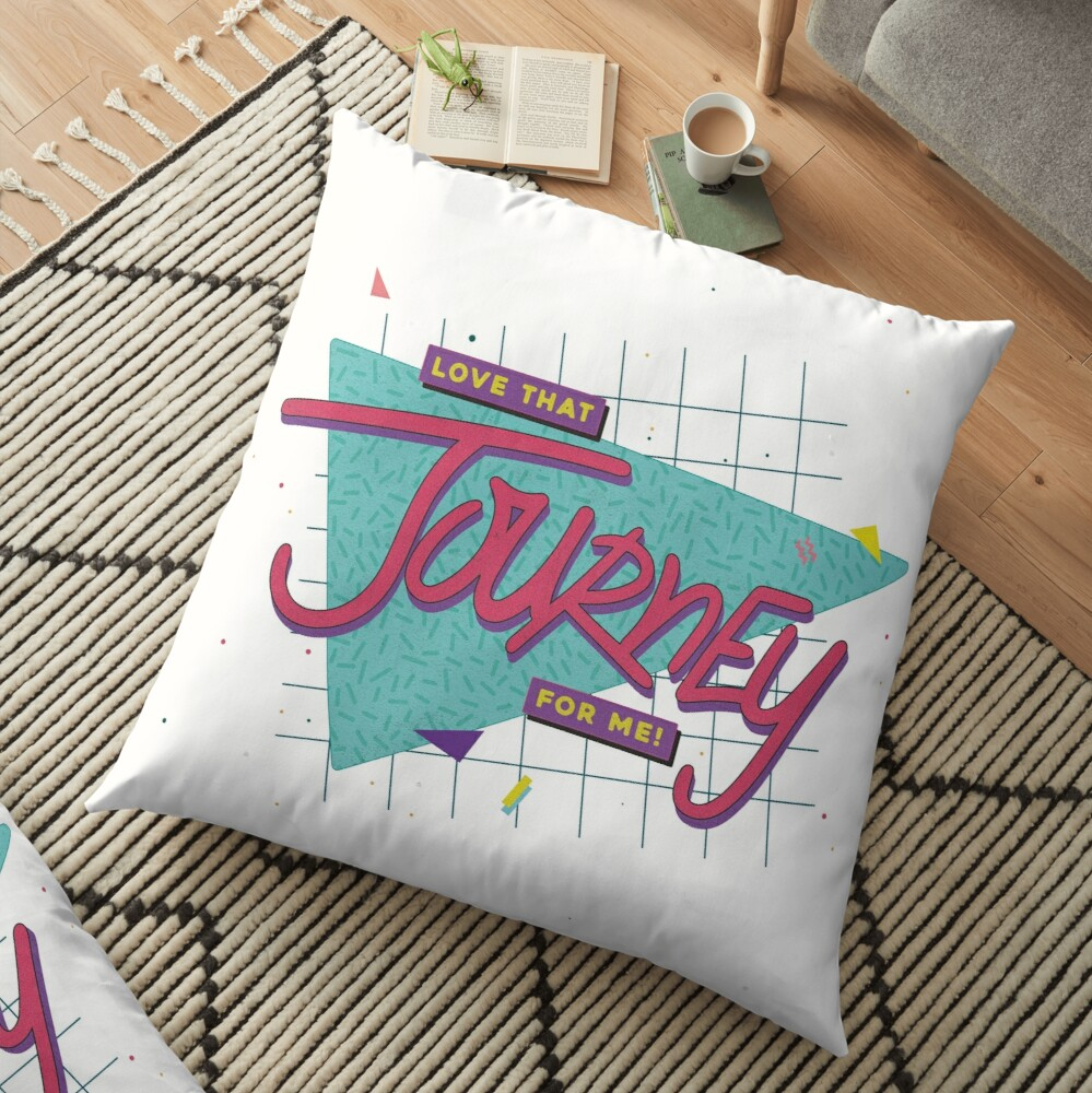 Love That Journey For Me Floor Pillow