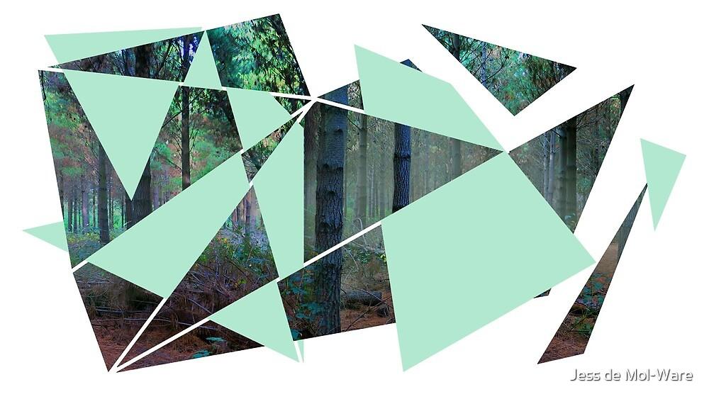 Verwobener Wald von Jess de Mol-Ware