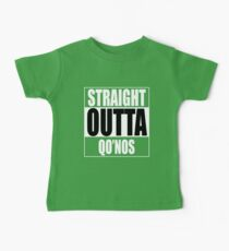 Straight OUTTA Qo'noS - Star Trek Baby Tee