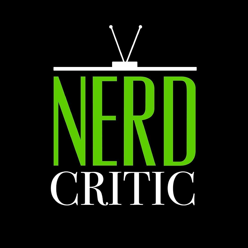 Nerd Critic Logo - White by CJ Lindsey