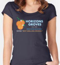Horizons Groves Shirt Women's Fitted Scoop T-Shirt