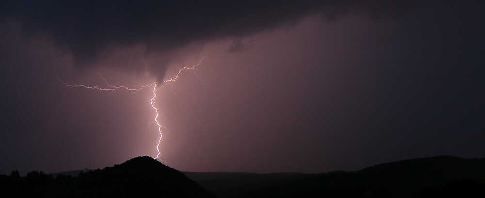 Lightning is a dancer by Danny Roozen