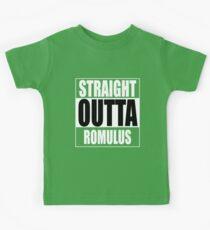 Straight OUTTA Romulus - Star Trek Kids Tee