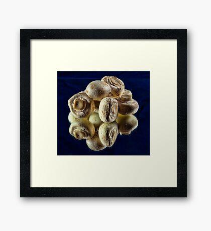 mmmmmmmm Mushrooms Framed Print