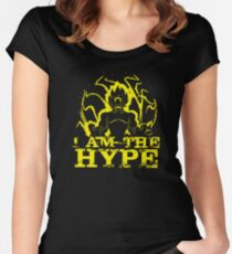 I AM THE HYPE Women's Fitted Scoop T-Shirt