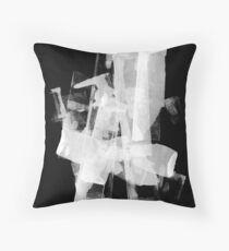 PRINT – Offset ink 2 Throw Pillow