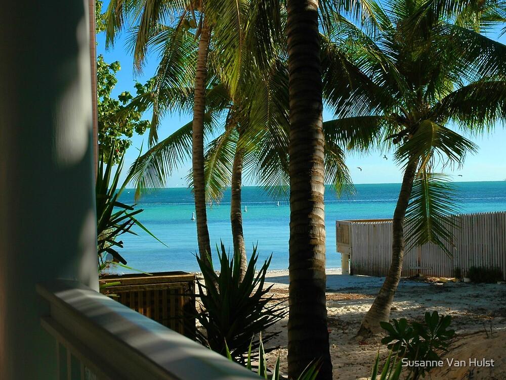 Louie's Backyard, Key West Florida by Susanne Van Hulst