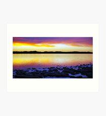 Lake Clifton Yalgorup Art Print