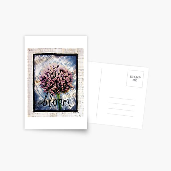 Bloom Postcard