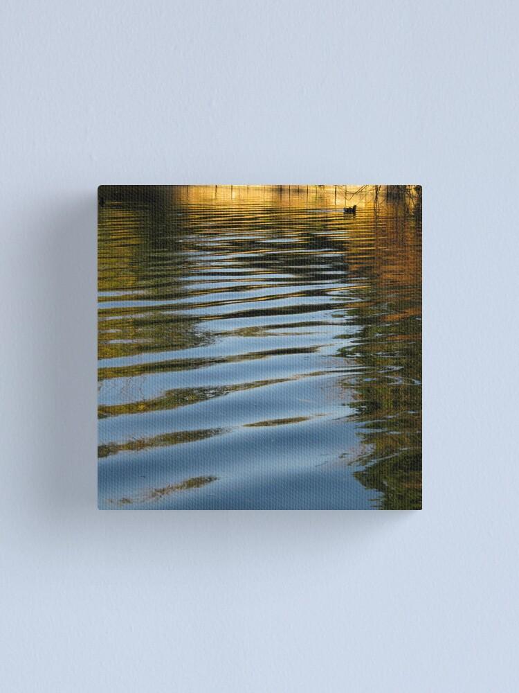 Alternate view of Water Hen Canvas Print