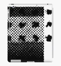 PRINT – Halftone screen 3 iPad Case/Skin