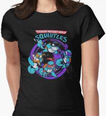 Teenage Mutant Ninja Squirtles Women's Fitted T-Shirt