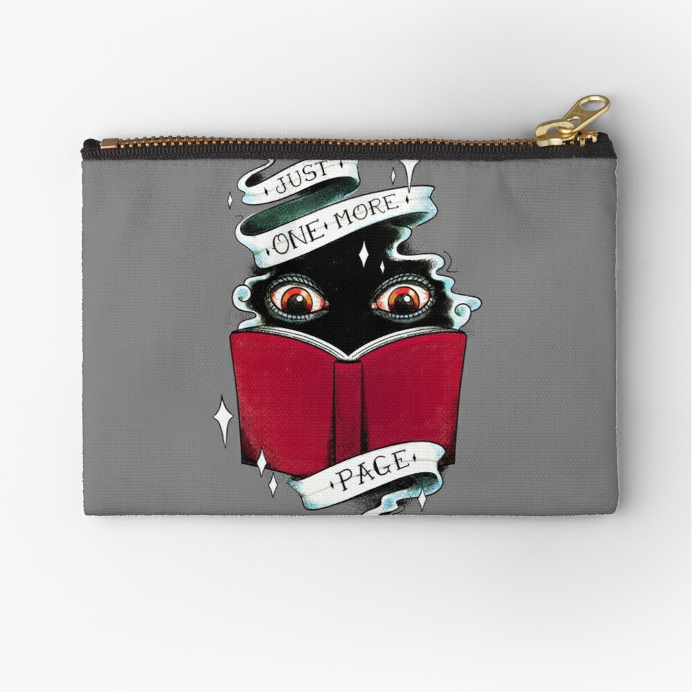 One More Page Zipper Pouch