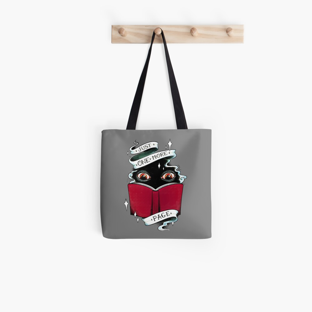 One More Page Tote Bag