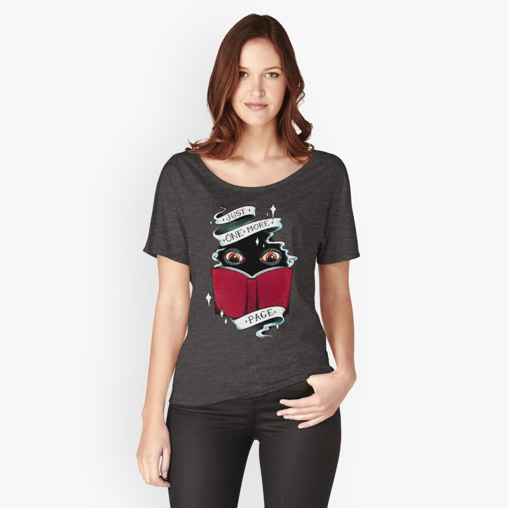 One More Page Relaxed Fit T-Shirt