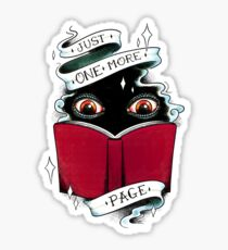 One More Page Sticker